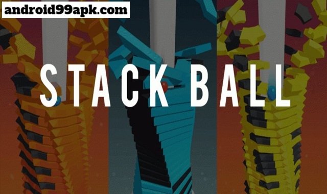 لعبة Stack Ball - Blast through platforms v1.0.70 مهكرة بحجم 24 MB للأندرويد