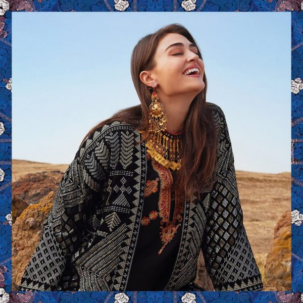 Esra Bilgic Khaadi shoot