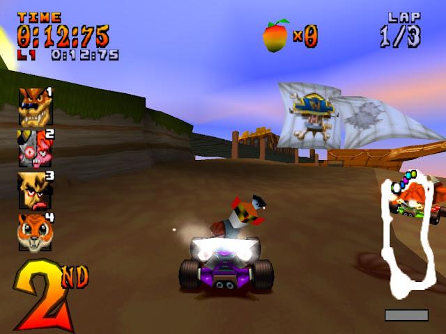 Crash Team Rancing PS1 ISO