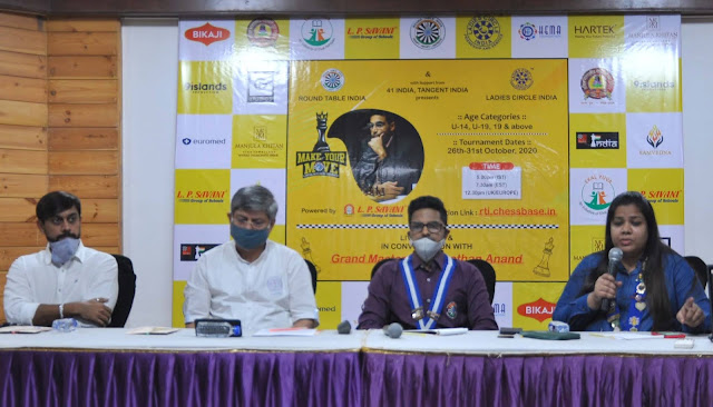 Global virtual bits chess tournament to be held in Surat