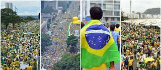 Manifestações contra corrupção foram pacíficas em centenas de cidades do País; vídeo
