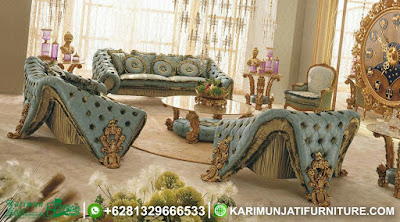 Set Sofa Tamu Mewah Modern Romantica