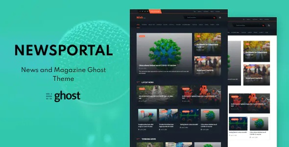 Best News and Magazine Ghost Blog Theme