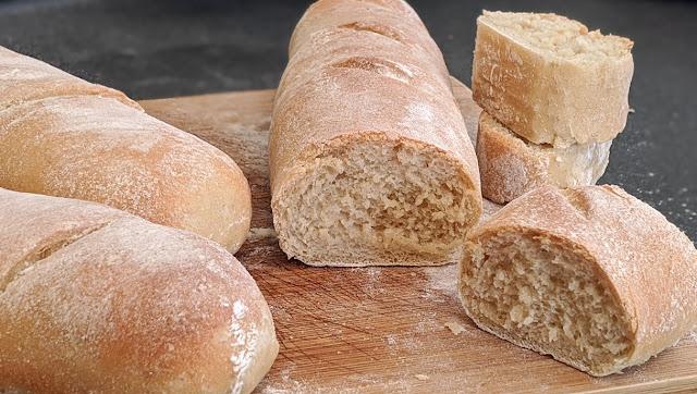 Recette, pain fait maison, facile, rapide