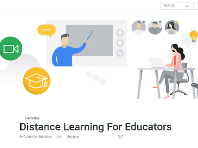 Google's Distance Learning Resources for Schools