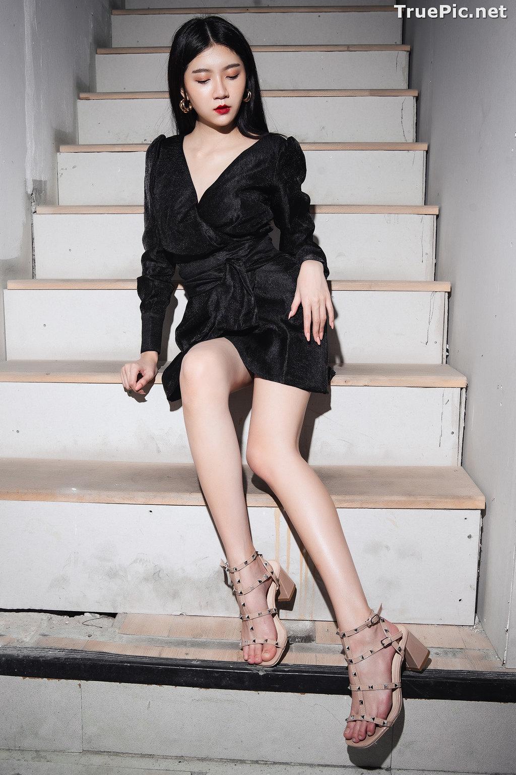 Image Thailand Model - Sasi Ngiunwan - Black For SiamNight - TruePic.net - Picture-7