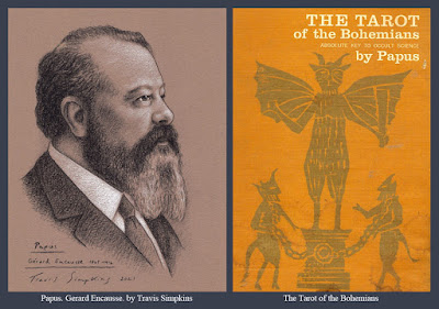 Papus. Gerard Encausse. Occultist. The Tarot of the Bohemians. by Travis Simpkins