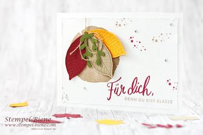 Stampinup; Herbstkarte; Stempelnddurchsjahr; Stempel-biene; Basteln Recklinghausen; Hochzeitspapeterie; KraftderNatur