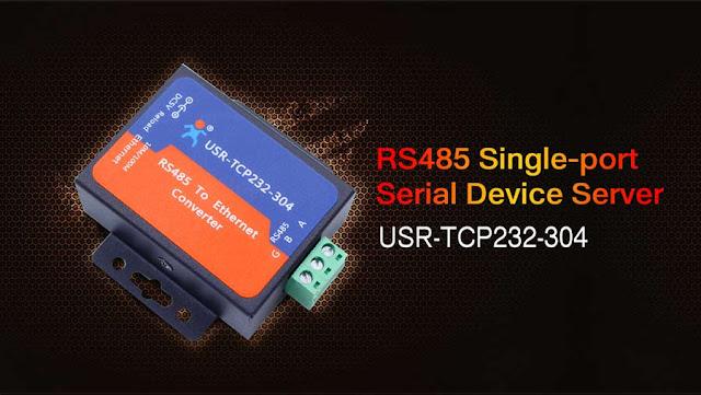 Соединение с электросчетчиком через RS485-Ethernet