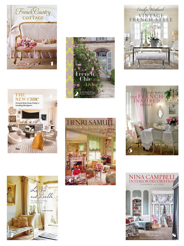 french romantic interiors style books