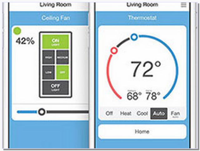 Thermostat controlled by iphone