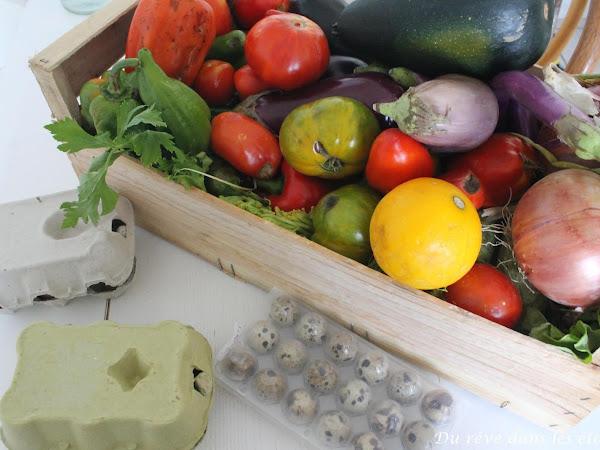 En marche vers le zéro-déchet #12 Les légumes et les œufs