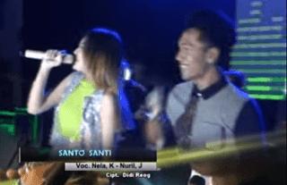 Lirik Lagu Santo Santi - Nella Kharisma