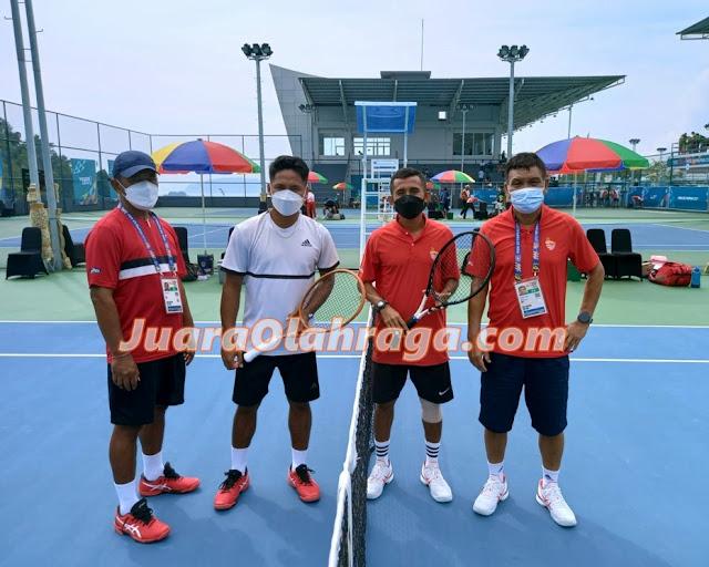 Tenis PON XX Papua: Tim Putra Bali Kalahkan Skuad Putra Bangka Belitung