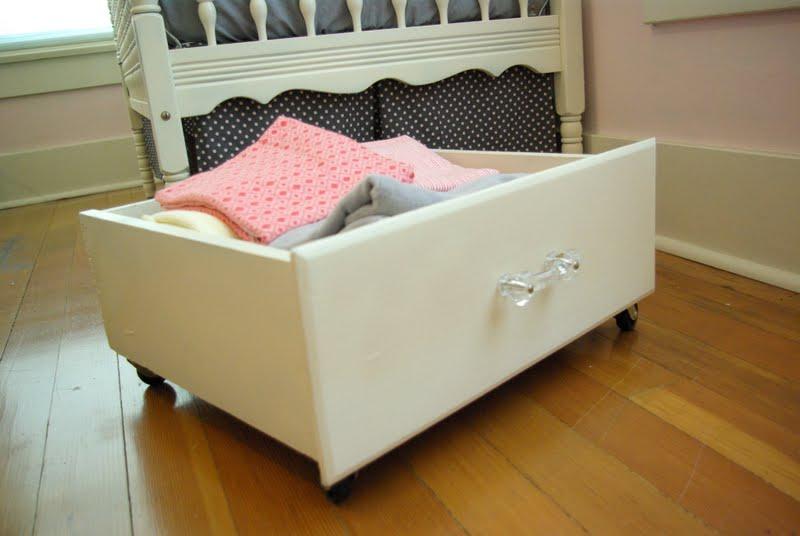 Marvelous Under Bed (or Crib) Storage