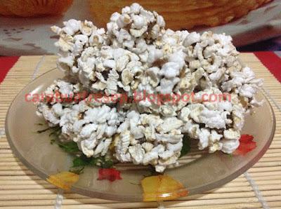 Foto Kue Borondong Ketan Pop Corn Khas Garut Asli