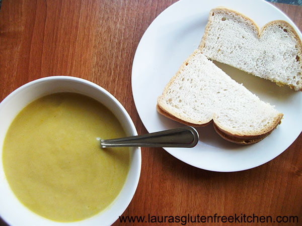 gluten free Leak & Potato Soup