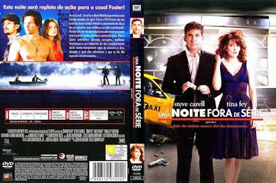 Filme Uma Noite Fora De Série (Date Night) DVD Capa