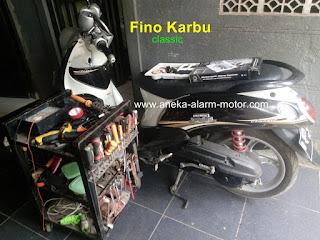 Cara Pasang Alarm Motor Remote Fino Karbu