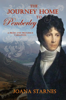 Book cover: The Journey Home to Pemberley by Joana Starnes