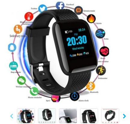 Relógio Smartband D13 Smartwatch Android