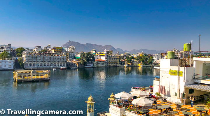 3. There are lot of good restaurants around Raj Niwas hotel in Udaipur. One of the most famous restaurant Ambrai is visible from Raj Niwas & is at walkable distance. We enjoyed our dinner at Ambrai on 1st Jan, as we preferred to party on the terrace of Raj Niwas on 31st dec night.
