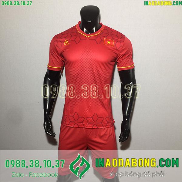 Áo bóng đá đội tuyển Việt Nam Ala đỏ