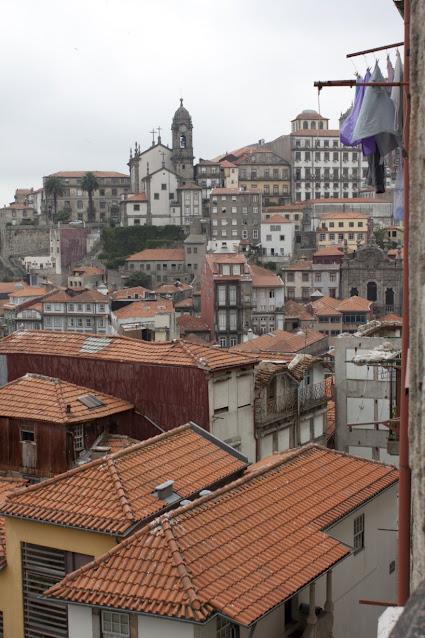 Panorama dalla Cattedrale di Porto