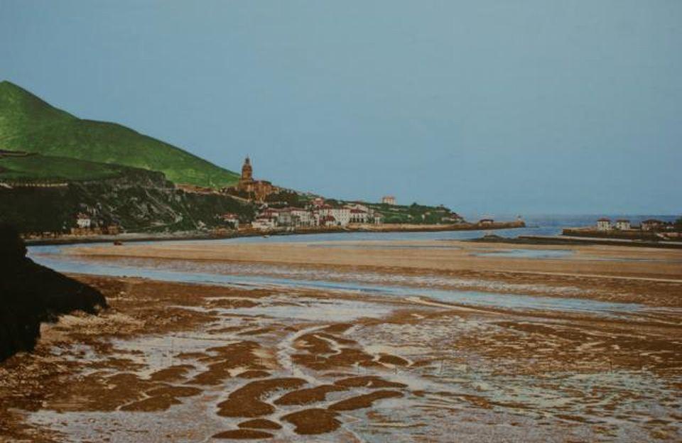 132833 portugalete playa de portugalete ano 1864