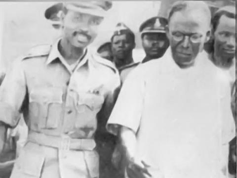 Image result for Awolowo and General Yakubu Gowon
