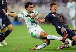 ملخص نتيجة مباراة لعبة العراق واليابان تصفيات أسيا لكأس العالم 2018