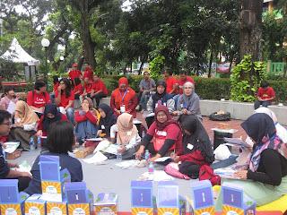 Suasana Workshop Kurikulum Cha-Ching di Taman Mataram