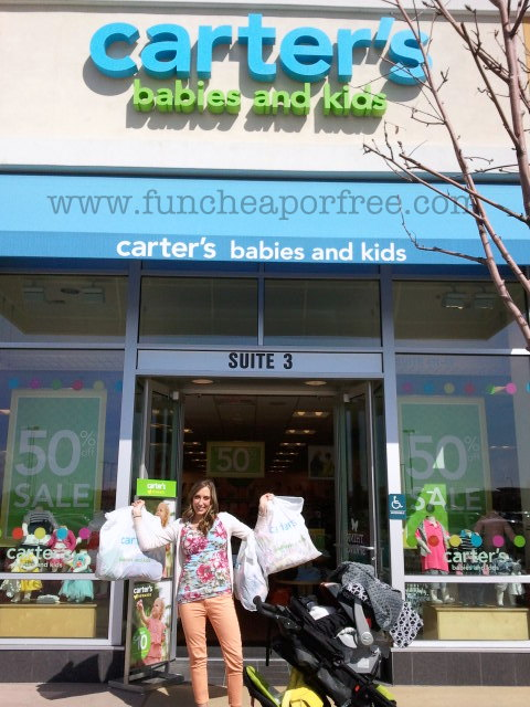 0ca5abf1f $50 Carter's giveaway! Plus great deals on kids clothes. - Fun Cheap ...