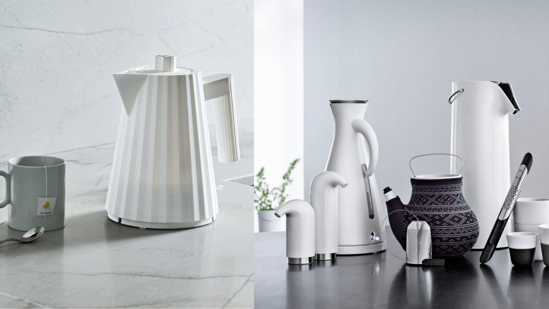 designerskie czajniki elektryczne