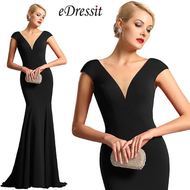 Cherchez Une Robe Noire de Soirée Chic  - eDressit Rêve d enfance 4b9496964ee7