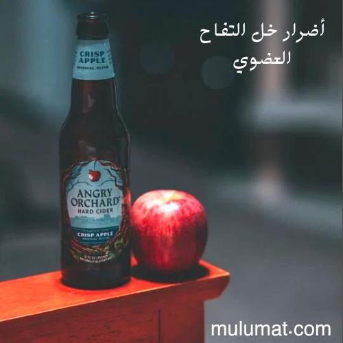 أضرار خل التفاح العضوي وكيف تتجنب حدوثها