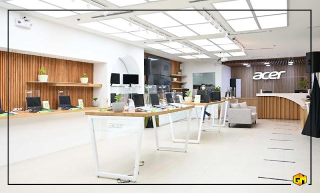 Acer Concept Store SM Megamall Gizmo Manila