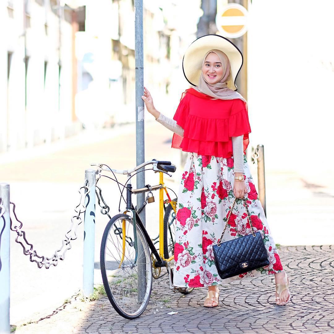 10 Model Baju Muslim Dian Pelangi Terbaik Model Hijab
