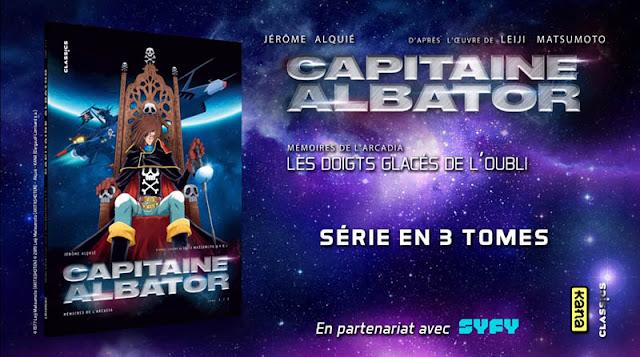 Albator le plus célèbre corsaire de l'espace est de retour en bande dessinée aux éditions Kana