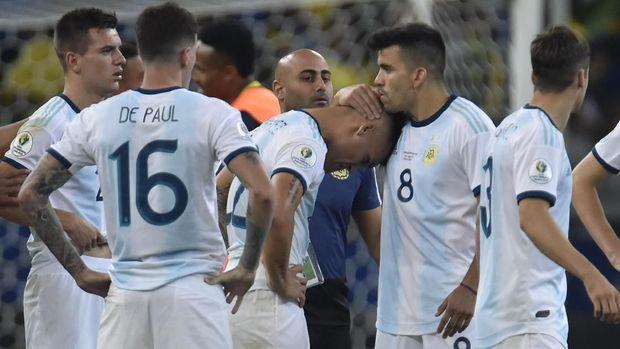 Leo Messi Bikin Skuat Argentina Menangis Ketika Teamnya Di Kalahkan Brasil 2019