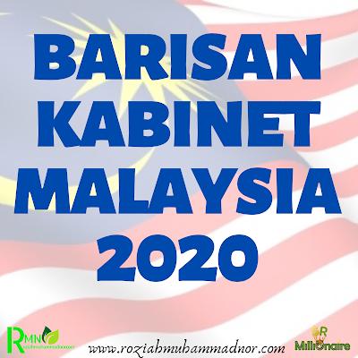 Senarai Menteri Kabinet 2020