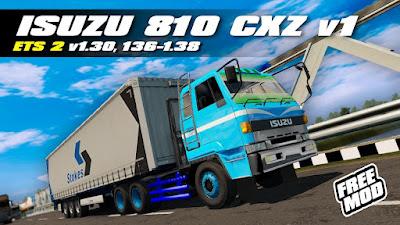 ISUZU 810 CXZ v1 MIZTA DOEL | 1.30 | 1.36 - 1.38