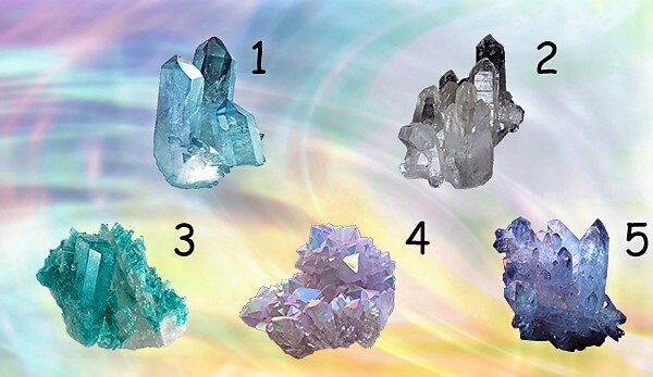 Pick one Crystal and get A Free Psychic Message