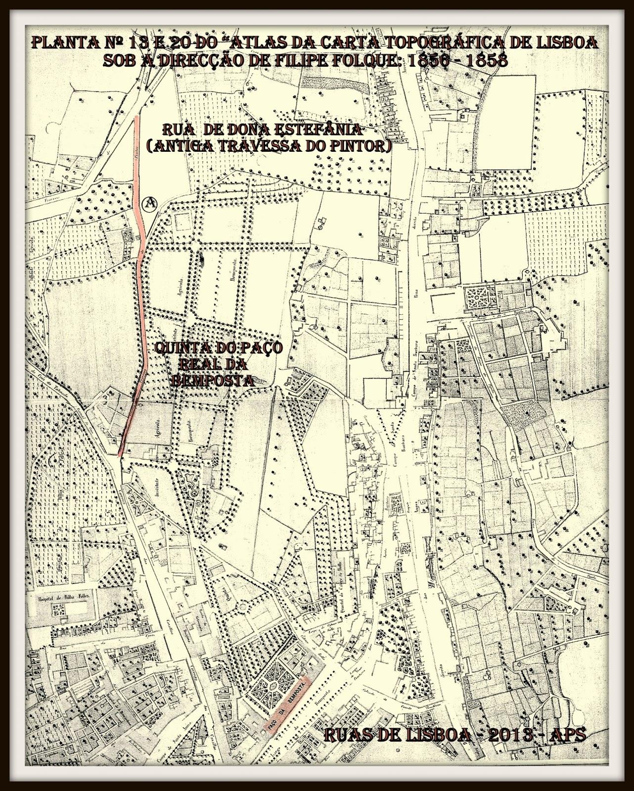 rua d estefania lisboa mapa RUAS DE LISBOA ALGUMA HISTÓRIA: RUA DE DONA ESTEFÂNIA [ I ] rua d estefania lisboa mapa