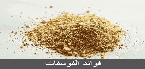فوائد الفوسفات