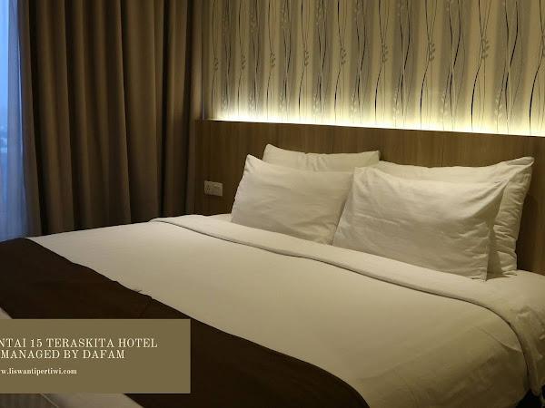 2 Malam di Lantai 15 Teraskita Hotel Jakarta Managed by Dafam