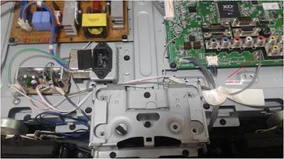Modifikasi IC Amplifier LG32LH20