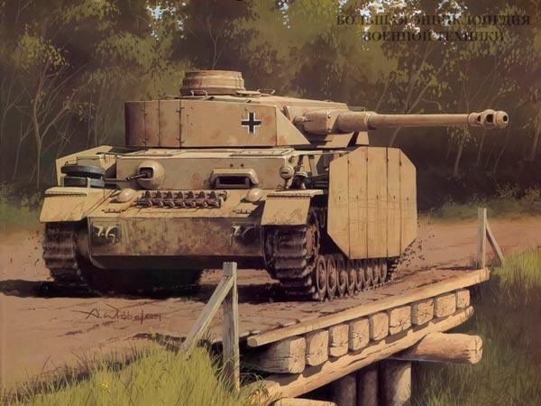 Танк Panzer IV (Sd.Kfz.161) Pz.IV