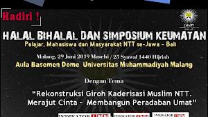 Cendikiawan Muslim NTT Akan Gelar Halal Bihalal dan Simposium Keumatan