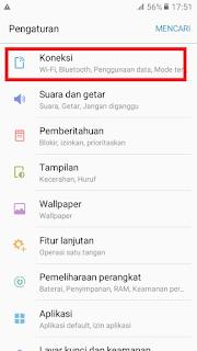 koneksi - Cara Mengaktifkan 4G Telkomsel di hp Samsung